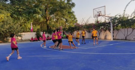 Inter House Basketball Competition