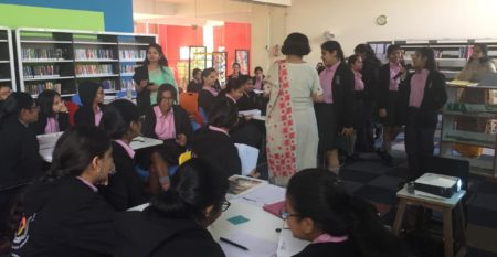 Afs Session held for Students